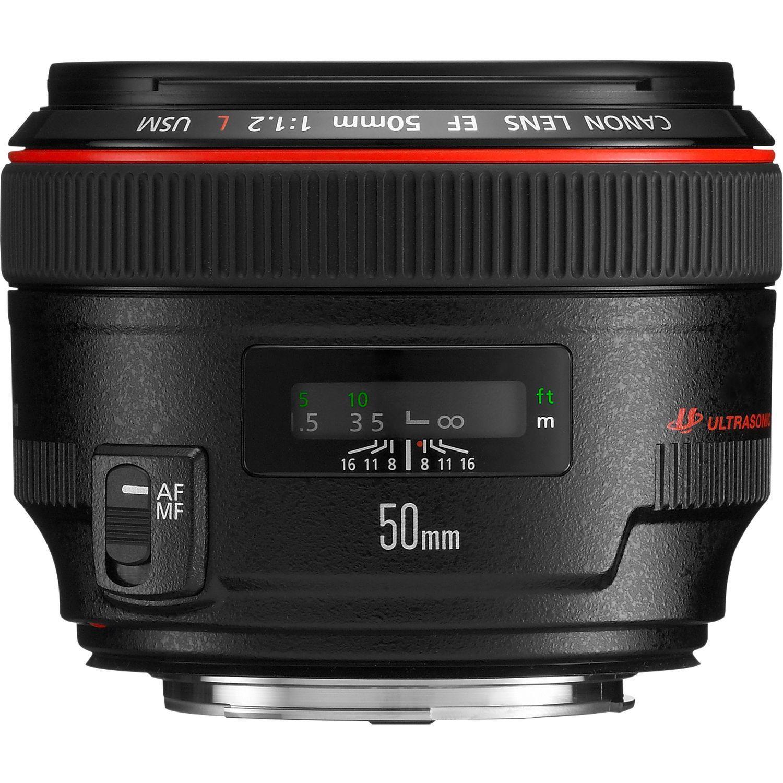 Canon EF Camera Prime Lens 50mm f1.2 L USM