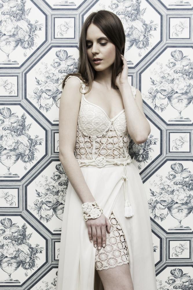 Vestuvinė suknelė, Kristiandress kolekcija, modelis Monika Daniūtė © Darius Tarėla