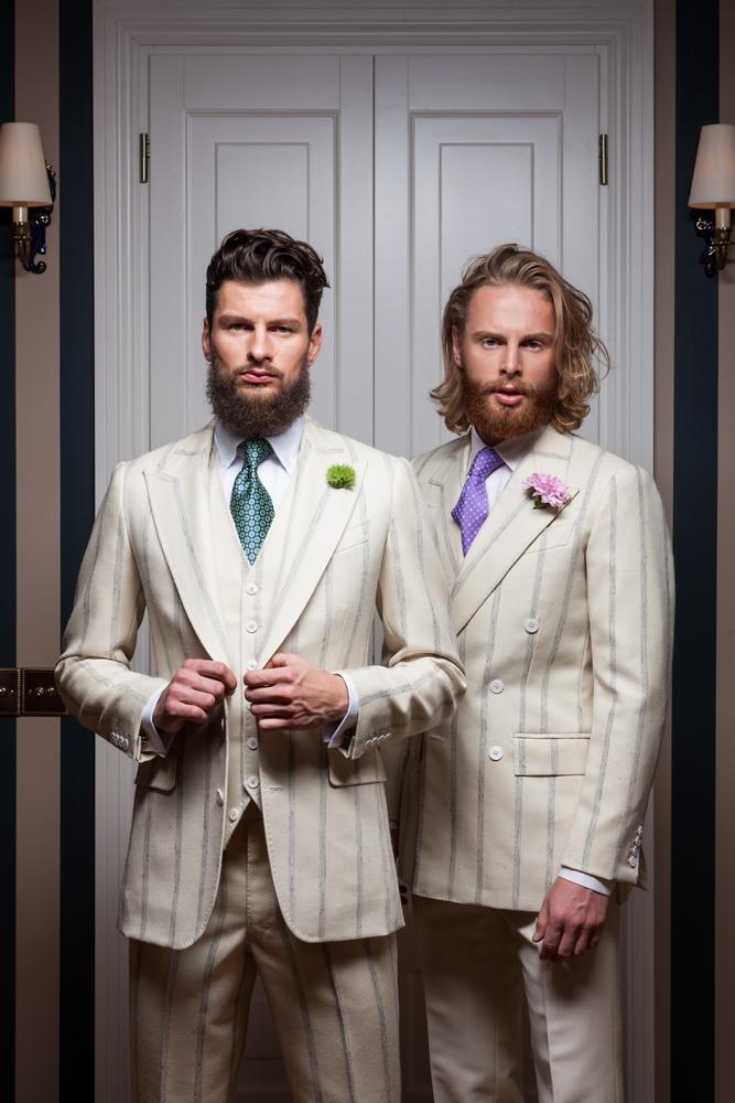 Henry Bailey Bespoke Tailors, models Kestutis Navickas, Ugnius Zasimauskas, designer Andriaus Sergejenko © Darius Tarela