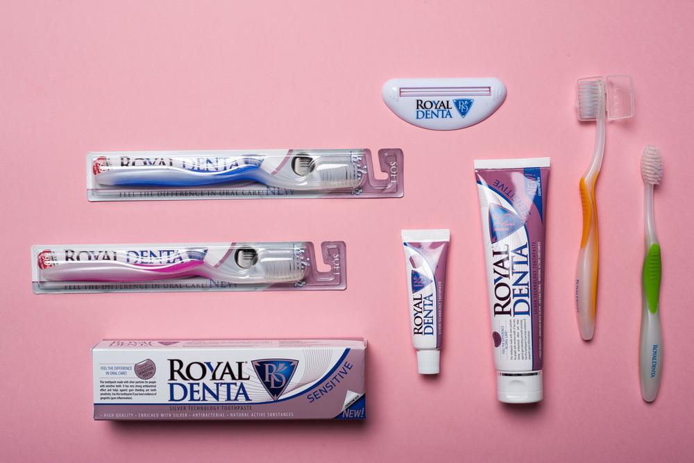 Royal denta produktai, Produktų fotografavimas