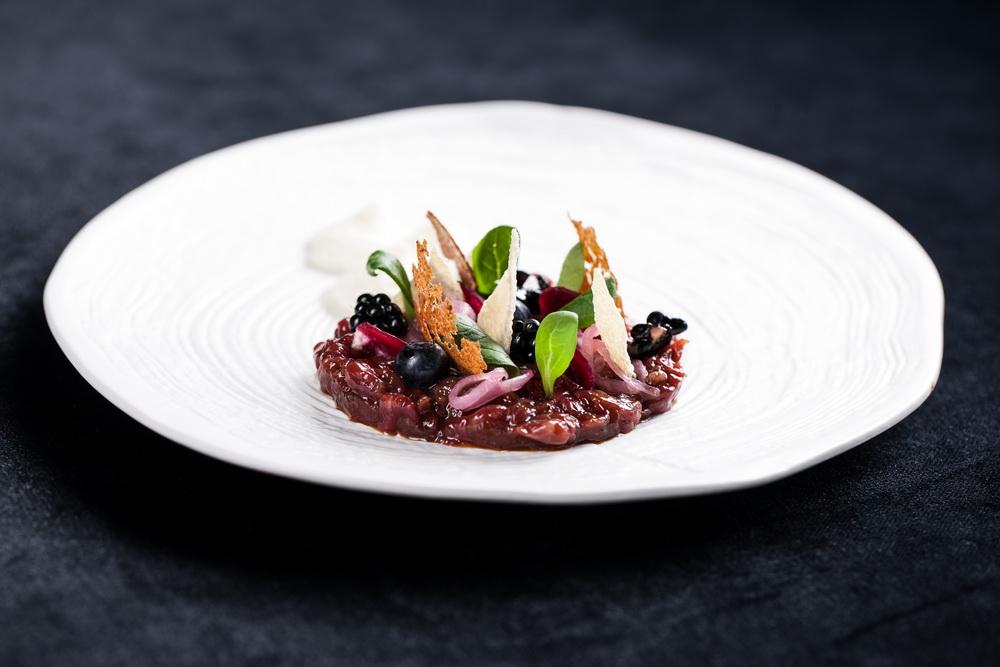 Maisto fotografavimas, jautienos tartare © Darius Tarela
