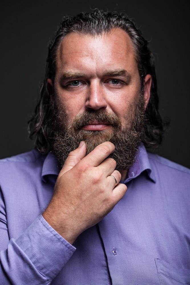 Vyro portretas © Darius Tarėla