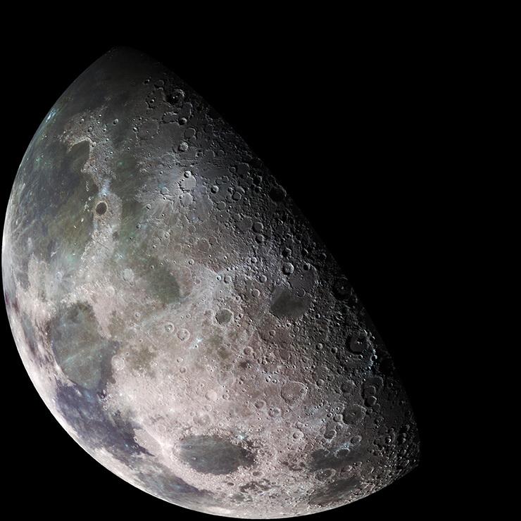 Mėnulis. Saltinis: galspace.spb.ru