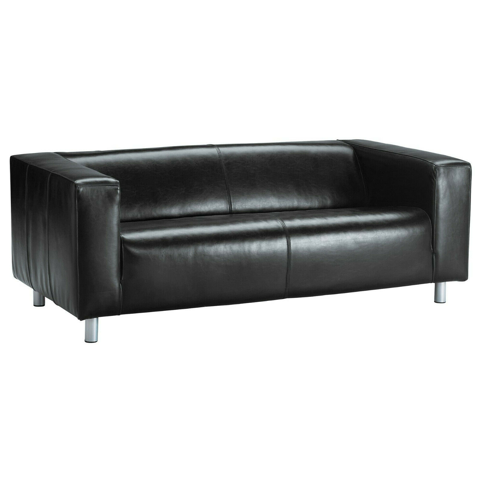 Ikea_klippan_leather_sofa_black